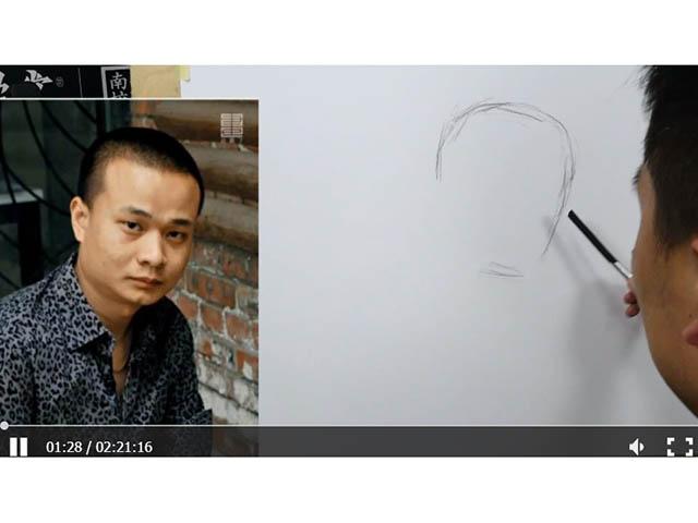 素描人物——汪釗